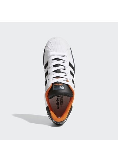 adidas Unisex Çocuk Superstar J Spor Ayakkabı FV3685 Beyaz